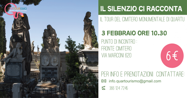 Tour del cimitero monumentale di Quartu